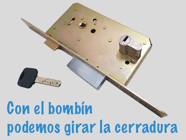 cerradura y bombin de seguridad